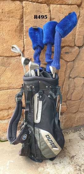 Golf Bag with 7 Clubs
