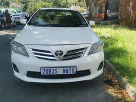2011 TOYOTA COROLLA PROFESSIONAL WITH AN ENGINE CAPACITY OF 1,6