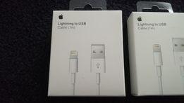 Kabel USB do Apple iPhone iPad iPod Lightning NOWY Fabrycznie zapakowa