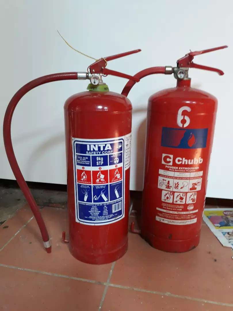 FireQuip 9kg Dry Chemical Fire Extinguisher 0