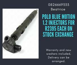 Polo blue motion 1.2 Injectors