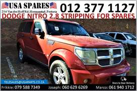 Dodge Nitro 2.8* 2007-13 stripping for used spares