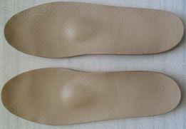 Стельки ортопедические кожаные