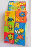 Развивающие мягкие кубики,Абетка,азбука,развивающие игрушки