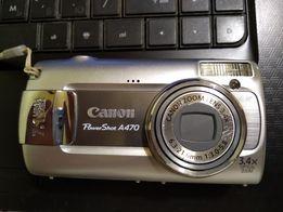 Фотоаппарат Canon PowerShot A470