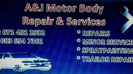 Services Diagnostic &paint lesse dent Removal spray painting and more.