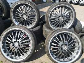 """20"""" Elegance Wheels with Archilles Tyres"""