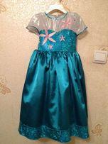 Эксклюзивное платье принцессы Эльзы frozen Disney. Шью на заказ.