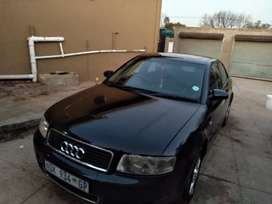 Audi A4 T black in color start and drive turbo working .