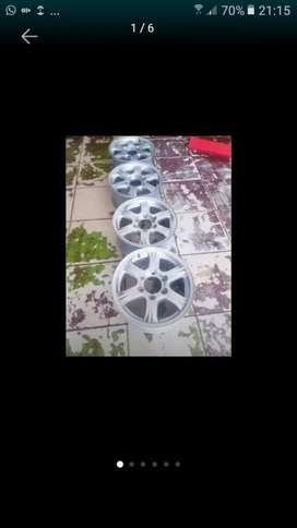 GMW 16 Inch 6Holes Magrims Wth #NO CENTER CAPS a Set Of Four On Sale
