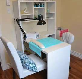 Custom nail desk design and build to your needs.