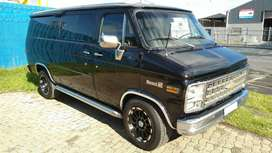 1981 Chevrolet Nomad Panel Van with 4.0L Lexus V8 conversion.