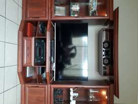Wall unit 4 piece Royal Cherry
