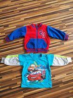 Polar i bluza dla chłopca