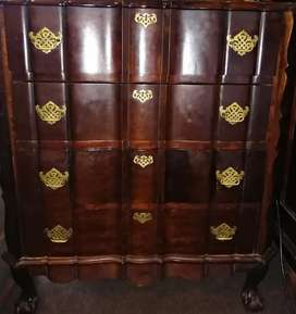 VERY RARE Emboya Ball and CLAW Chest Of Drawers