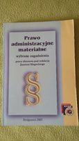 Prawo administracyjne materialne, wybrane zagadnienia - J. Sługocki