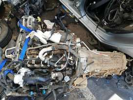 Ford Ranger QJ2 Engine and Automatic Gearbox