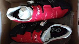 Buty Phantom kolarskie SRS czarno-biało-czerwone rozm.42