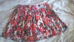 Spódniczka, spódnica MINI, kwiatki M/L
