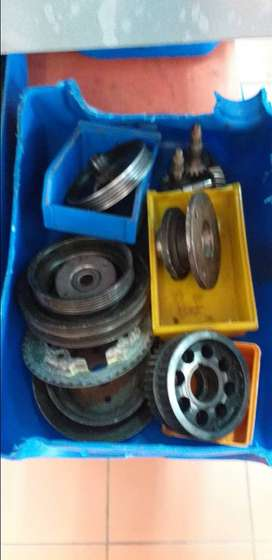 D4BB Pully gears starting from 250