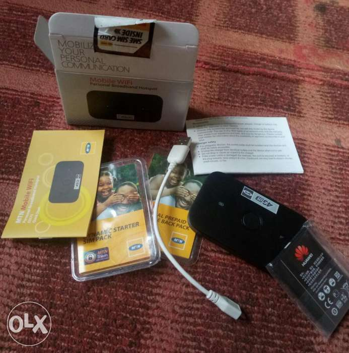 Brand new MTN 4G MIFI for sale. 0