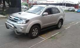 2008 Toyota fortuner d4d  on sale