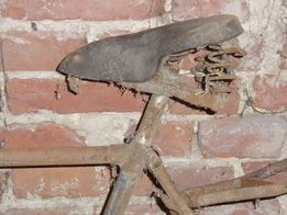 Rama do roweru starego - unikat, dodatki!