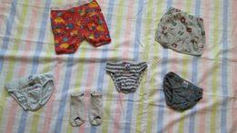 Majteczki, skarpetki Adidas, podkoszulka - 8 sztuk, dla 2 - 3 latka