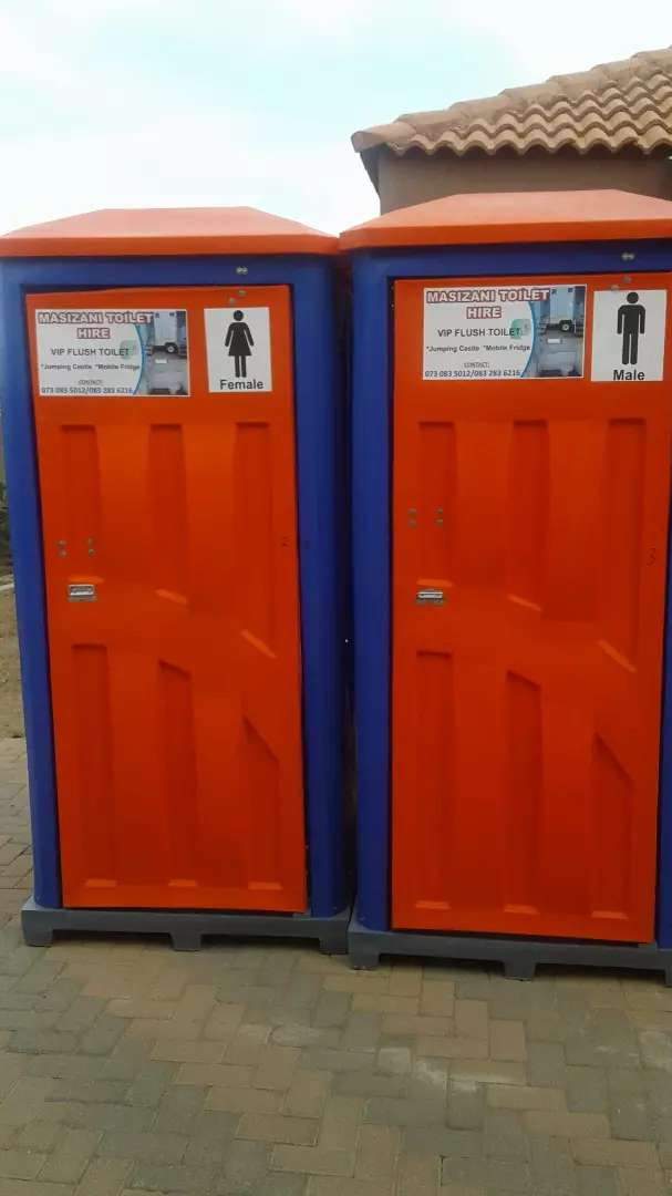 Mobile toilets for hire 0