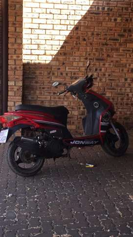 Jonway 150cc scooter running perfect papers are in order