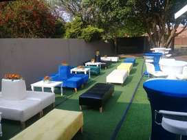 Furniture and tents for hire