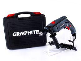 GRAPHITE 58G716 Wiertarka udarowa 650W + walizka - jak nowa