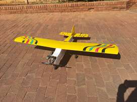 RC 46 size trainer plane
