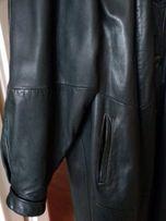 Płaszcz damski skórzany, długi, z odpinaną podszewką, rozm. 46