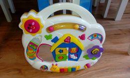 Zabawka na lozeczko,interaktywna,walek,poduszka,jak fisher price