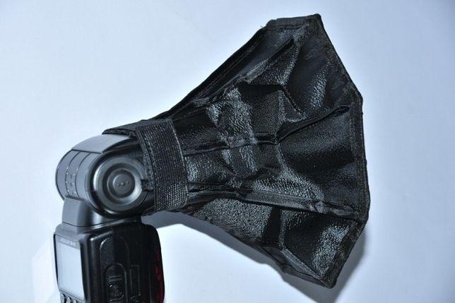 Софтбокс Октагон 20см, для накамерной вспышки, рассеиватель Октабокс Днепр - изображение 4