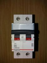 Bezpiecznik, Wyłącznik nadprądowy S 302 2P B 6A 6000A serii TX3 5 szt