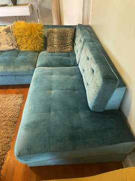 L-Division Couch For Sale
