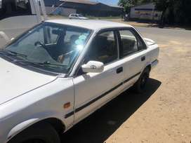 TOYOTA COROLLA-STRIPPING FOR SPARES