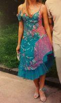 выпускное, вечернее платье! размер S! и туфли 38 р!