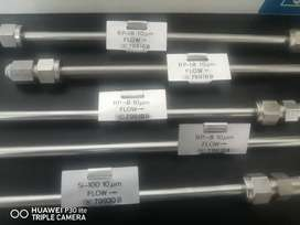Laboratory HP hplc columns RP18 and Si100