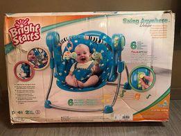 Детское музыкальное электро-кресло качалка