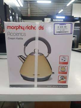 Clearance Sale on Morphy Richards Cream Kettle