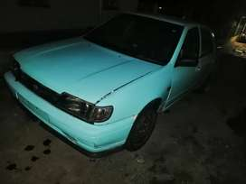 Stripping nissan sentra bubble shape