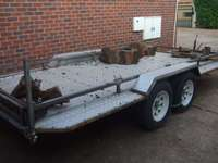 Image of 3 Ton Double Axle Trailer 4.3m for sale