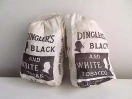 Dinglers old tobacco bags