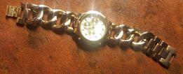 Złoty zegarek - bransoleta