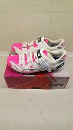 SIDI Scarpe Genius 7 białe/ różowe damskie buty szosowe EU 41,5