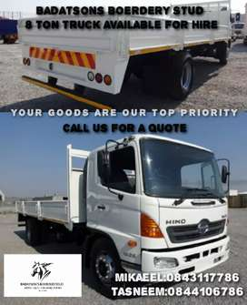 HINO 500 TRUCK FOR HIRE
