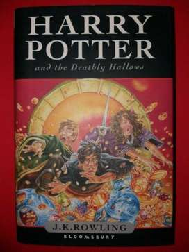 Harry Potter And The Deathly Hallows - JK Rowling - Book 7 - Hardback.